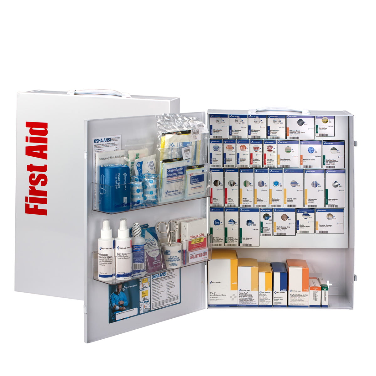 XL SmartCompliance General Business First Aid Cabinet Without Medications