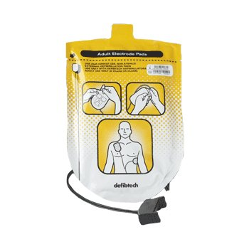 defibtech lifeline adult aed replacement electrode pads