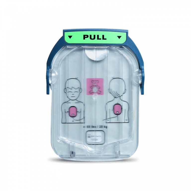Philips HeartStart OnSite Infant/Child AED Replacement Electrode Defibrillation Pad Cartridge