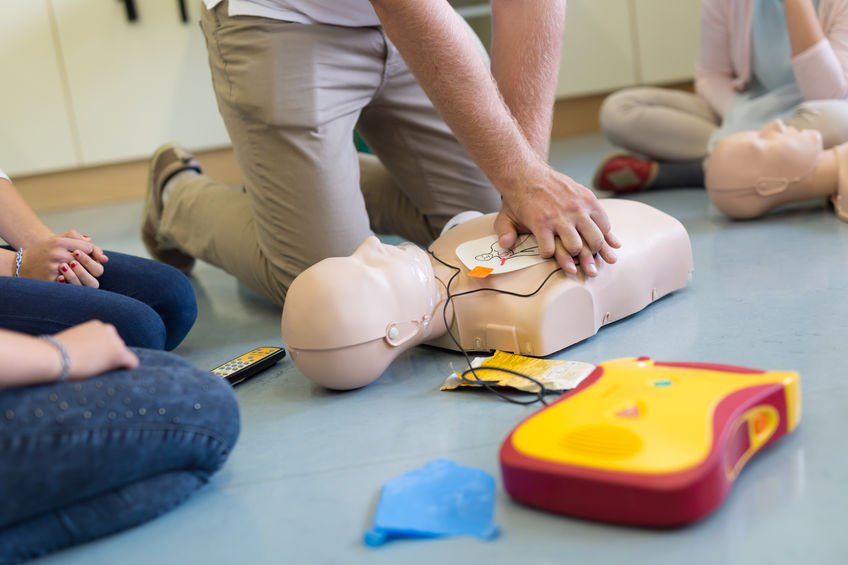 First Aid AED CPR Training Course