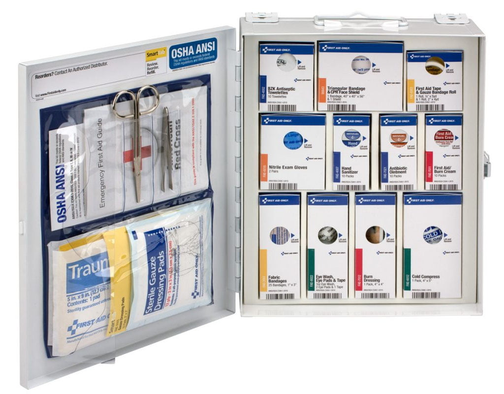 smartcompliance 90578 first-aid cabinet refill items