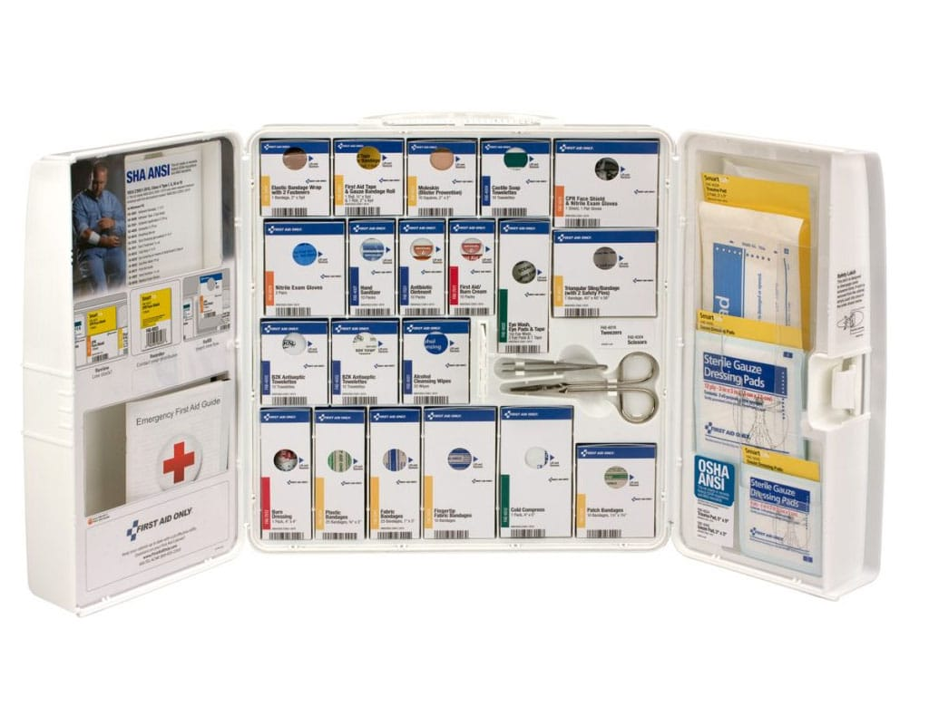 smartcompliance 90580 first-aid cabinet refill items