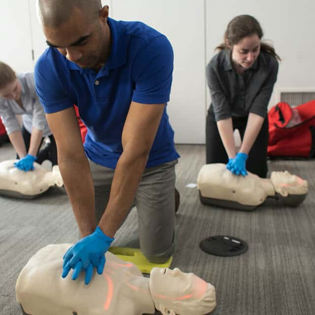 in-person cpr aed training