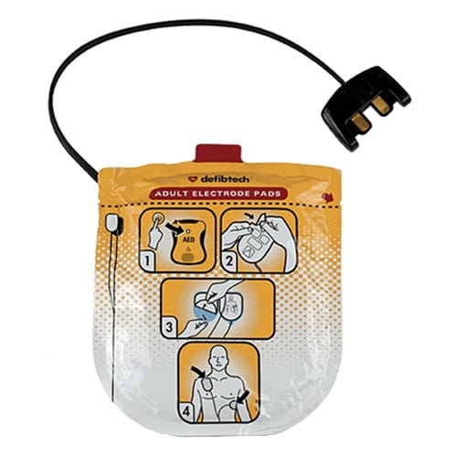 defibtech lifeline view aed electrode pads
